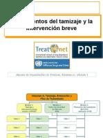 Fundamentos del tamizaje e intervencion breve en drogodependencias