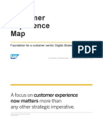 SAP Customer Experience Map - Presentation