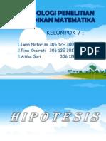 Ppt Penelitian Metodologi Hipotesis