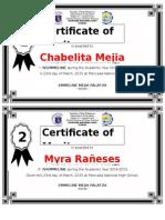 Certificate IV Emmeline