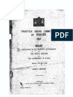 Frontier Areas Committee of Enquiry 1947 Report Part 1