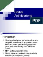 3. Herbal Terapi Hipertensi
