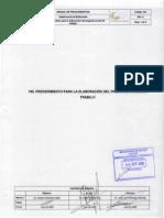 155 Proc Para La Elaboracion Del Programa Anual de Trabajo