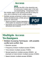 Chapter 7 Multiple Access Techniques