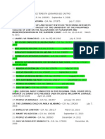Jurisprudence - List
