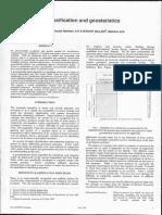 Coal Resource Classification and Geostatistics