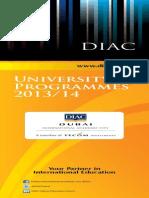 University Program Guide