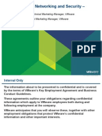 VMware VCloud Networking and Security 5.1 - Tech Overview