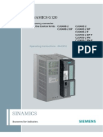 Siemens CU240B 2 CU240E 2 Manual