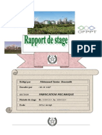 rapport de stage ocp safi