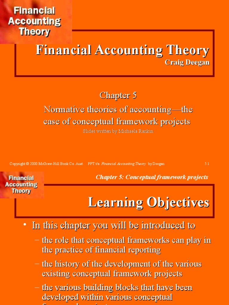 conceptual framework accounting theory