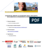 III Edición de Simposio Las Sociedades ante el Reto Digital
