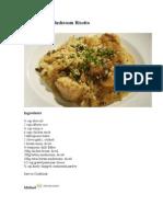 Chicken and Mushroom Risotto