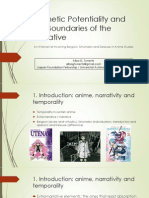 Animetic Potentiality and the Boundaries of the Narrative