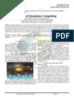 STUDY OF QUANTUM COMPUTING