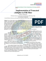 Design and Implementation of Truncated Multiplier in FIR Filter