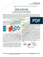 STUDY OF FIREWALL