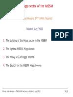 Higgs Sector of the MSSM (2012) - Herrero
