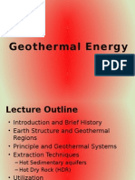 Geothermal Energy Lecture1