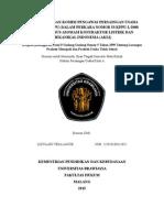 Analisa Putusan Komisi Pengawas Persaingan Usaha Indonesia