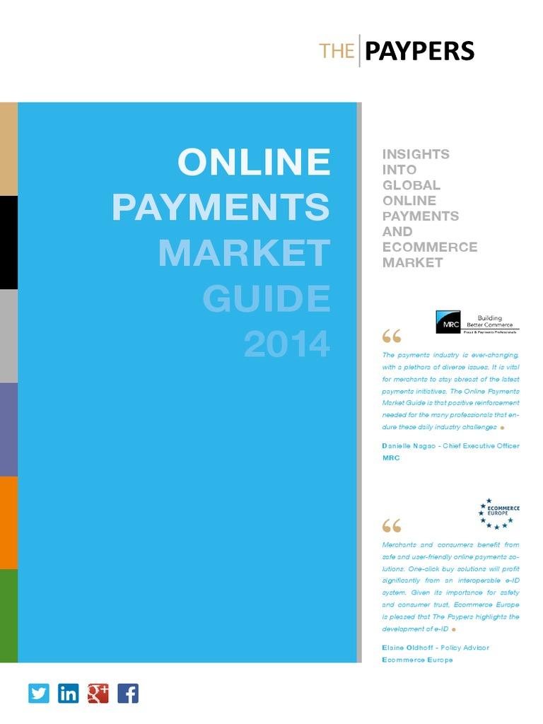 ONLINE PAYMENTS MARKET GUIDE 2014 | E Commerce | Retail