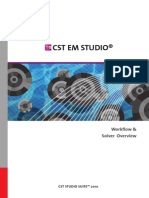 CST EM STUDIO - Workflow and Solver Overview