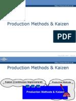 Production Methods & Kaizen