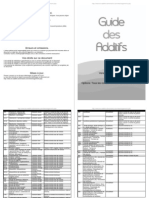 Guide des additifs hallal