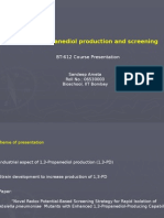Propanediol Production and Screening