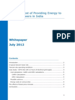The True Cost of Providing Energy to Telecom Towers in India