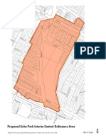 Echo Park Interim Control Ordinance Boundaries