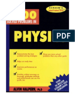 6067781 3000 Solved Problems in Physics Hiepkhachquay