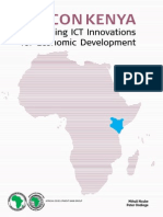 Silicon Kenya- Harnessing ICT Innovations for Economic Development 2013