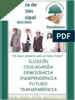 Balance de Gestion CDeI 2011-2015