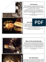 Baroque Music Cards