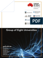 Group of Eight Universities Brochure - English -Final Low-res