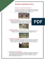 Canteras de La Región de Cusco