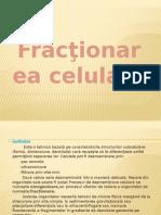 Fractionarea celulara