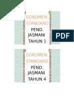 Divider Dokumen Standard