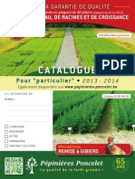 Catalogue pépinières Poncelet