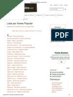 Lista Por Nome Popular _ Jardineiro