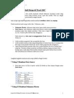 Materi II - Mail Merge (Examination)-Manajemen