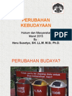Perubahan Kebudayaan Mar 2015