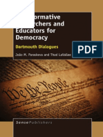 João M. Paraskeva, Thad LaVallee (Eds.)-Transformative Researchers and Educators for Democracy_ Dartmouth Dialogues-SensePublis