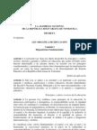 La Asamblea Nacional de La RepÚblica Bolivariana