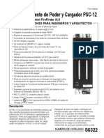 PSC-12-Módulo de Fuente de Poder y Cargador PSC-12