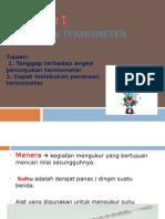 Peneraan Termometer