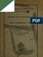(1916) The Domestic Cat