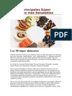Los 10 Principales Súper Alimentos Más Saludables
