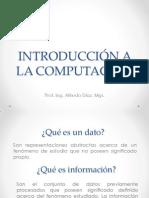 Introducción a la Computación